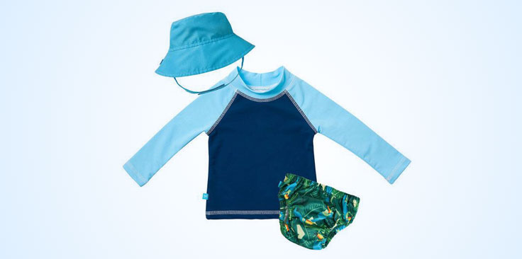 Baby swim clothes